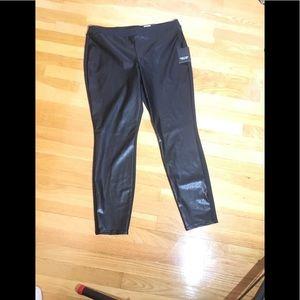 NWT, Simply Vera Vera Wang, Faux Leather Pants